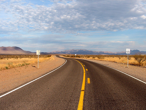 Arizona Highway by Marya