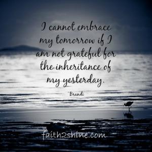 Grateful Yesterdays