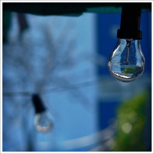 Light Bulb by Gonzalo Azpiroz