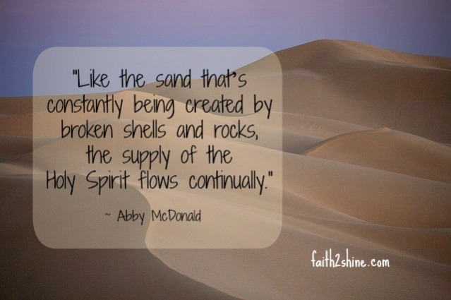 Abby's Sand Quote
