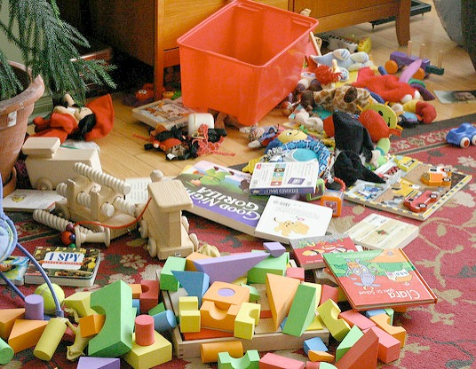 toy mess