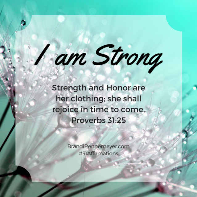 31-affirmations-i-am-strong
